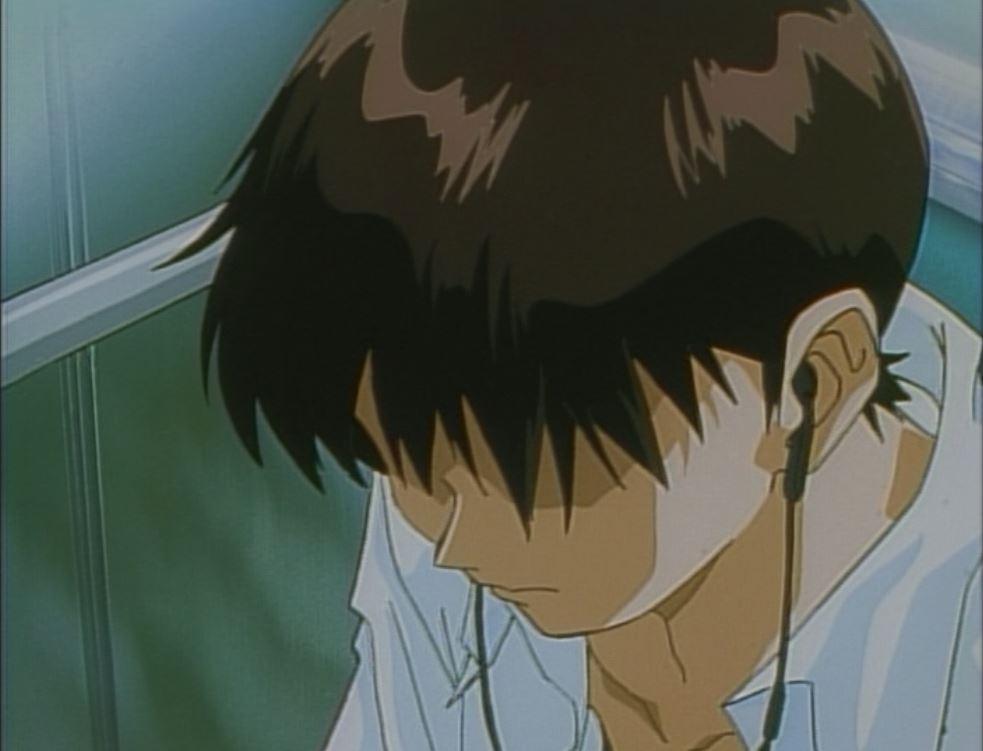 first sign Shinji