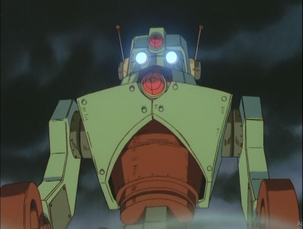 Giant Robot time