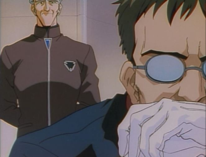 Our first picture of Gendo