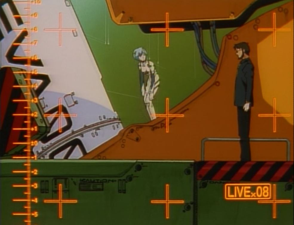 Rei and Gendo