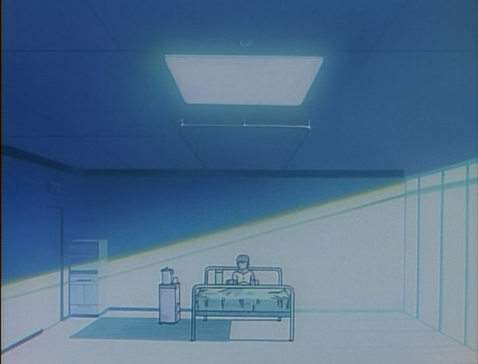 shinji in the hospital